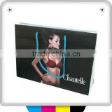 customized buy underwear clothe shopping paper bag