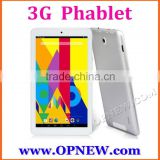 7 inch ips 3g 4g phablet android 5.1 lollipop phone tablet pc dual sim phablet 4 bands wifi bluetooth