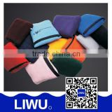 100 Polyester High Quality Travel Blanket And Pillow Set,Polar fleece blanket with ten colors