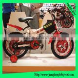Baby bycicle 12 inch children bicycles with two side wheels for 4 years old child
