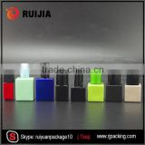 empty rectangle 15ml nail polish bottle with brush wholesale                                                                                                         Supplier's Choice