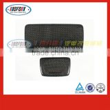 carbon fiber black Control large container cover FOR BMW 5 series F10 F18 2014-2015 automobile interior trims