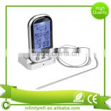 Amazon Hot Selling Wireless Meat Thermometer With Timer BBQ Grill Probe Digital Remote Smokers Oven