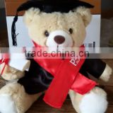 Graduation Plush Toy/ Graduation Plush Teddy Bear / 2016 Graduation Teddy Bear