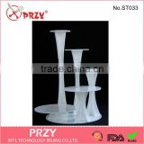 wedding plastic cake stand crystal