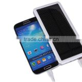 Factory direct high quality solar mobile power 12,800 mA solar power bank