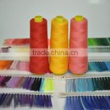 100% Polyester Sewing Thread in kinds of color
