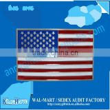 USA flag design metal buckle for belt