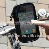 3.5'' universal weather resistant bike bicycle motorcycle handlebar mobile phone GPS navigation mount holder& waterproof case