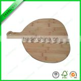 Nature bamboo pizza cutting board for kitchen