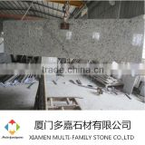 Brazil stone white rose prefab kitchen counter top Granite countertop