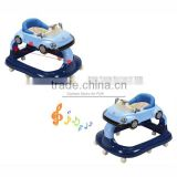 Car shape chilren's walker for running round baby walker