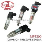 0-10vdc, 0-5v, 4-20mA water pressure sensor for air, water, oil pressure measurement.