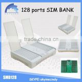 New arrival SMB 128 sim bank 128 sim card sim bank with change sim card