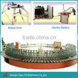 Full automatic rubber boots&slipper &sandal polyurethane parts making machine