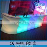 2016 newly design illuminated led conunter, rgb colors wave-stripe led led light bar furniture