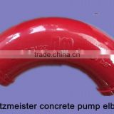 DN 125 R275*45Degree Concrete Pump Cast Steel Elbow