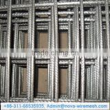 Steel Bar Welded Wire Mesh / electro galvanized welded wire mesh / heated crimped welded wire mesh