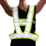 Best Sale Red/Yellow High Visibility Reflective Vest Conspicuity Warning Reflective Safety Vest