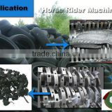 car tire shredder / tyre bumper shredder / car tire grinder crusher machine recycling line
