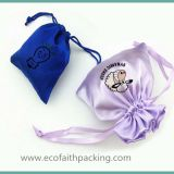satin jewelry pouch