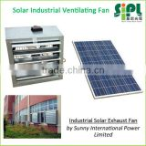 New type heat extraction Dia. 950mm Blades negative presssure cross flow ventilation Solar Powered Industrial wall Fan