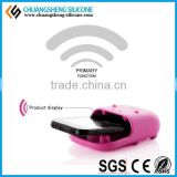 silicone cell phone loud speaker, rubber loud speaker for cellphone, dual loud speaker mobile phone