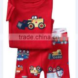 new arriva baby boys and girls fashion rooter pajamas suits kids cotton sleepwear