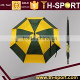 Wholesale Hot sale promotional logo printed golf umbrella