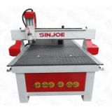CNC Machine Bed CNC Lathe 1325 CNC Bed CNC Router Working Area 1300×2500mm Or 52×98 Inches Spindle 2.2-5.5Kw SJ-1325C