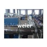 SJ-90 / 30 PVC Plastic Pipe Extrusion Line For Fiber Reinforced Soft Pipe