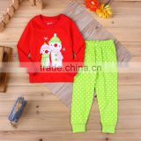 OEM boutique Christmas cotton clothing infant baby manufacturers of baby clothes
