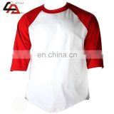 Red basball shirt polo shirt Selling high quality Sportwear Baseball Gym T Shirt For Men