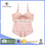 New Style Top Material Mature Women Elegant New Model Bra Set