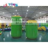 PVC Cylinder Inflatable Archery tag Paitaball Obstacles For Shooting game