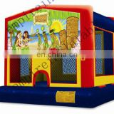art panel inflatable bouncers,inflatable bouncer,cheap bouncer d126