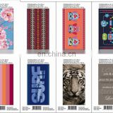 china 100% cotton printed beach towel stock lot