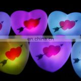 magic heart LED night light for valentine's day