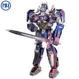 Hasbro Genuine Licensed Transformer Metal Puzzle Model 3d diy Magnetic Assembly Puzzle toys