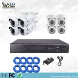 Wdm 8chs H. 264 CCTV 1.0MP/2.0MP Home Security Surveillance Poe Alarm NVR Kits