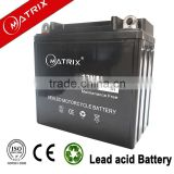 China maintenance free motorcycle battery 12n9 factory activated battery 12V 9Ah motorcycle battery