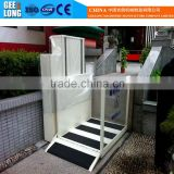 scissor lift platform for wheelchair