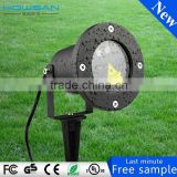 Die-casting Aluminium garden light laser Certificated Outdoor waterproof colorful pattern lamp