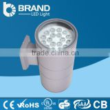 2*18W Outdoor IP65 Bridgelux Chips CE Driver LED Wall Light Up And Down Light 36W