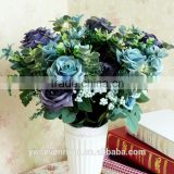 Household act the role ofing is tasted high-grade simulation 11 head fake silk artificial flowers painting dream rose European s