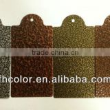 Copper metal spray powder coating paint