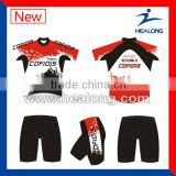 Quick Dry Customied Sublimated Men's Cycle Clothes