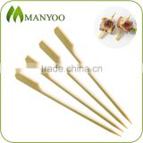 Eco-friendly bamboo paddle food picks with premium quality