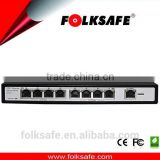 10/100m 8 ports wholesale rack-mount unmanaged PoE switch w/Vlan function protecting from broadcast storm