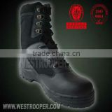 Troop delta tactical black genuine leather boots 70-1028